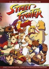 Street Fighter Alpha 2 Pack (2007, REGION 1 DVD New)