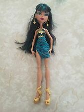 "Monster High 11"" Doll CLEO DE NILE SWIMSUIT 13 WISHES"