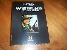 WWII IN HD COLLECTOR'S EDITION World War II Color History Channel 5 DVD SET NEW