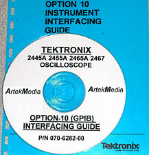 TEKTRONIX  2445A 2455A 2465A 2467 OPTION 10 GPIB MANUAL