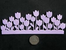 Tulips Border - Lace Mat / Mould by Fairie Blessings