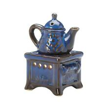 old fashioned teapot stove candle holder Wax tart Oil warmer Burner diffuser