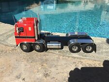 JIM SIMMONS CUSTOM TRUCK KENWORTH CAB   RED WITH TRIM 1/16 SCALE