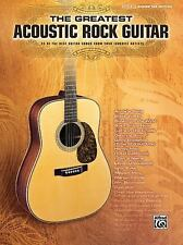The Greatest Acoustic Rock Guitar Authentic Guitar Tab Edition by Hal Leonard C