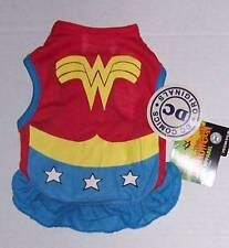 DC Comics Wonder Woman Dog Costume Size Small NWT Halloween