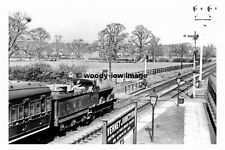 pt8761 - LMS 8535 at Verney Junction Station , Buckinghamshire - photograph 6x4