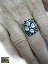Magical Ring SILVER 925 stamp SIZE 10,25 total 4,09g Ukraine USSR