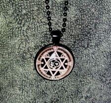 MAGNIFICENT ~Seal of SOLOMON~ NECKLACE of *GOOD LUCK* WICCA WITCH DJINN CRAFT