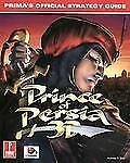 Prince of Persia 3D Prima's Official Strategy Guide NEW