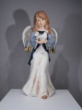 +# A007394 Goebel Archiv Erstmuster Engel Angel mit Taube Pigeon Dove