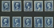 #O25TC4e-O34TC4e JUSTICE DEPT ATLANTA TRIAL COLOR PROOFS ON CARD (BLUE) BS5420