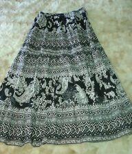 CHOICES 5 Tier Peasant Boho Skirt Sz S-M *Very Lightweight & Super Soft* NWOT
