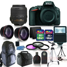 Nikon D5500 Digital SLR Camera W/-18-55VR II + 24GB + Back Pack + Top Kit 1546