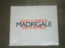 Aldo Clementi Ives Ensemble Madrigale (CD, Hatnow) sealed