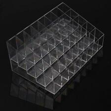 Clear Acrylic 40 Lipstick Holder Display Box Cosmetic Makeup Case Organizer NEW