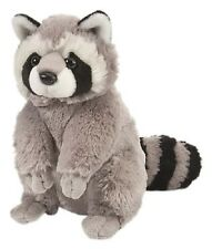 "Wild Republic,Cuddlekins 12"" RACCOON Stuffed Animal Plush Toy, New Lifelike"