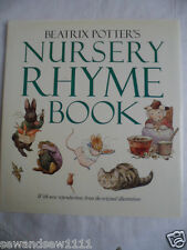BEATRIX POTTER'S NURSERY RHYME BOOK HARDCOVER 1988 GUILD PUBLISHING
