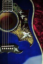 2016 Gibson Custom Shop Ltd Doves In Flight Viper Blue 5.25 Lbs New Mint *606