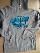 Vtg A BATHING APE grey sweater hoodie babymilo supreme nbhd kaws 3t Rare JAPAN