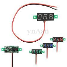 LED Voltimetro Amperimetro Digital DC2.5-30V Verde Rojo Azul Panel Voltmeter
