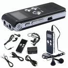 New 8GB Digital Voice Recorder 650Hr Dictaphone MP3 Player CL-R30 Black US