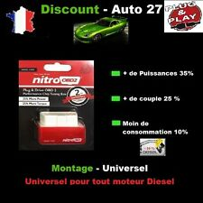 BOITIER ADDITIONNEL CHIP BOX PUCE OBD TUNING NISSAN MICRA K13 1.5 dCi 86 CV