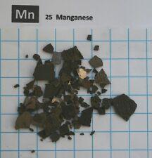 10g 99.85% Manganese Metal - Element 25 sample