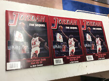Jordan The Sequel - The Chicago Bulls Run for IV Lot Of 3! See Pics!
