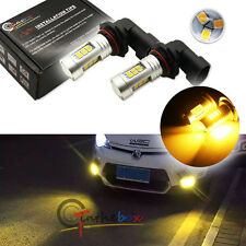 2 Yellow 3000K 21-SMD 9006 HB4 LED Replacement Bulbs For Fog Lights Driving Lamp