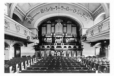 pt9479 - Pipe Organ in Blackpool Baptist Tabernacle , Lancashire - photograph