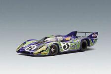 """1:18 Autoart Porsche 917 LH L.M. 1970 """"hippie"""" 2nd posición larrousse/kauhsen #3"""
