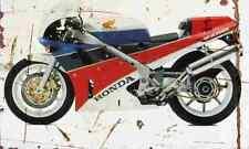 Honda VFR750R 1988 Aged Vintage SIGN A3 LARGE Retro