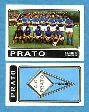 CALCIATORI PANINI 1972-73-Figurina-Sticker n. 516 - PRATO + SCUDETTO -Rec