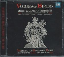 Voices of Brass (CD, Jul-2006, MSR Records)