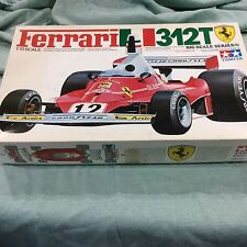TAMIYA FERRARI 312T- 1/12 SCALE MODEL KIT No. 17 - Mostly Complete
