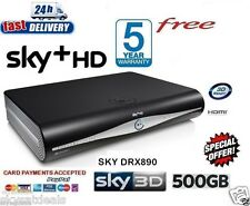 SKY HD BOX + HD BOX 500 GB AMSTRAD DRX890C 3D READY ON DEMAND 2016 VERSION