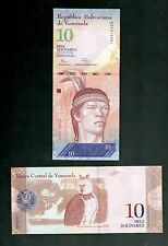 VENEZUELA  IN S. AMERICA, 1 NOTE OF 10 BOLIVARES , 2014, P-90, UNC FROM BUNDLE