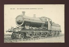 GWR Railway Six Coupled Goods Locomotive #2610 c1910/20s PPC some spotting