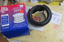 Dirt Devil Exhaust Filter Cartridge, Hepa
