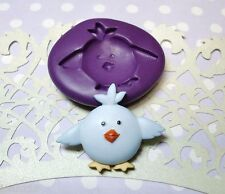Silicone Mold Cute Baby Bird Animal (30mm) Fondant Icing Cake Decoration Clay