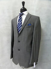 Men's Jeff Banks Grey 2 Piece Suit 42L W36 L34 CC1797