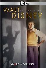 American Experience: Walt Disney DVDs-Good Condition