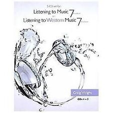 5 CD Set for Wright's Listening to Music, 7th and Listening to Western Music,...