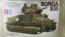Tamiya 1/35 French Medium Tank SOMUA S35 Model Tank Kit #35344