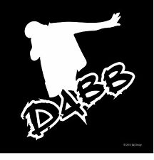 Dabb Sports Decal Haters Shocker Funny Car Window Vinyl Sticker New Truck Window