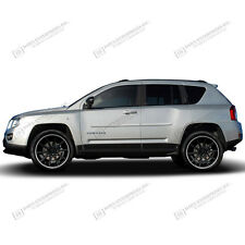 JEEP COMPASS Painted Body Side Mouldings Moldings 3M Tape Install Trim 2007-2014
