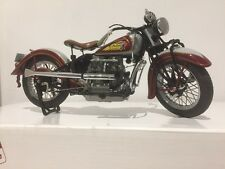 Franklin / Danbury Mint 1938 Indian Four Motorcycle 1:10 DieCast Model Bike