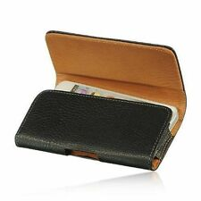 PU Leather Horizontal Holster Belt Clip Pouch Case For Samsung Galaxy Note 5 NEW