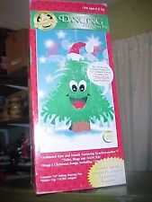 "Vtg NEW IN BOX 18"""" DOUGLAS FIR TALKING TREE Animated Singing Christmas"