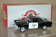 First Gear 10-3349 1956 FORD SEDAN St Louis voiture de police n ° 251 mint boxed na